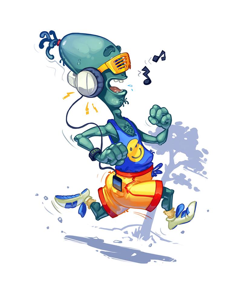 Running Alien