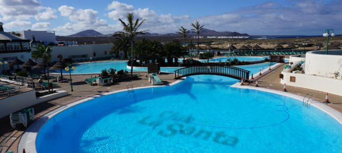 First active holiday… Club La Santa