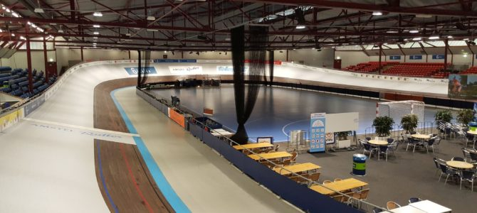 New video: Track cycling at Amsterdam Velodrome